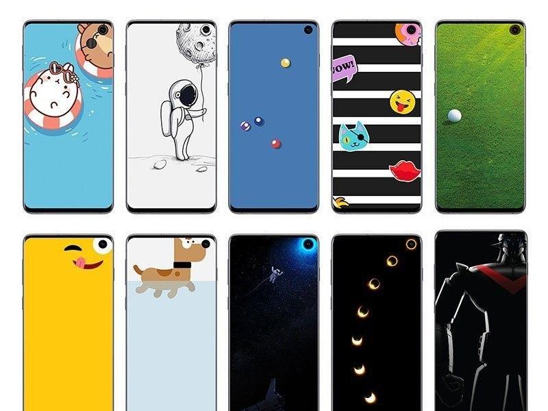 Samarkan lubang, Samsung rilis wallpaper Disney dan Pixar's