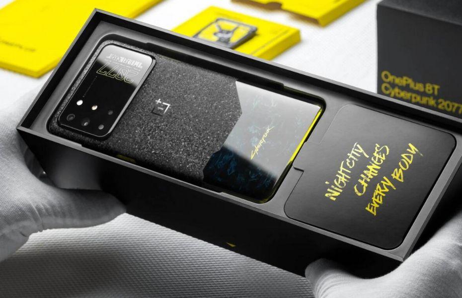 OnePlus 8T Cyberpunk 2077 Edisi Terbatas Resmi Diluncurkan