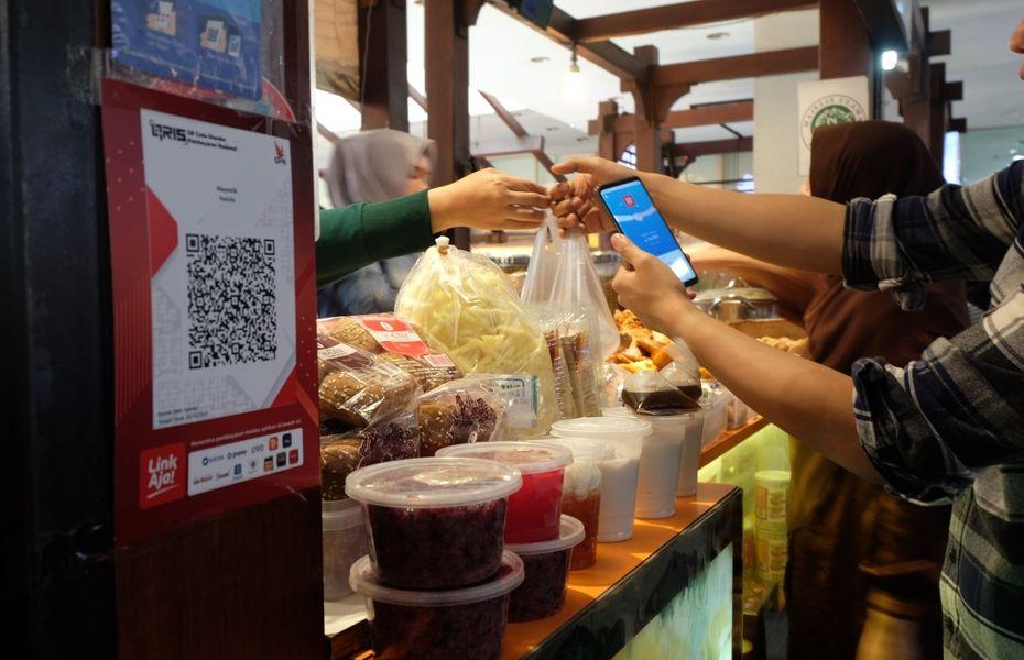 Ikuti tren, LinkAja implementasikan QRIS melalui digitalisasi pasar