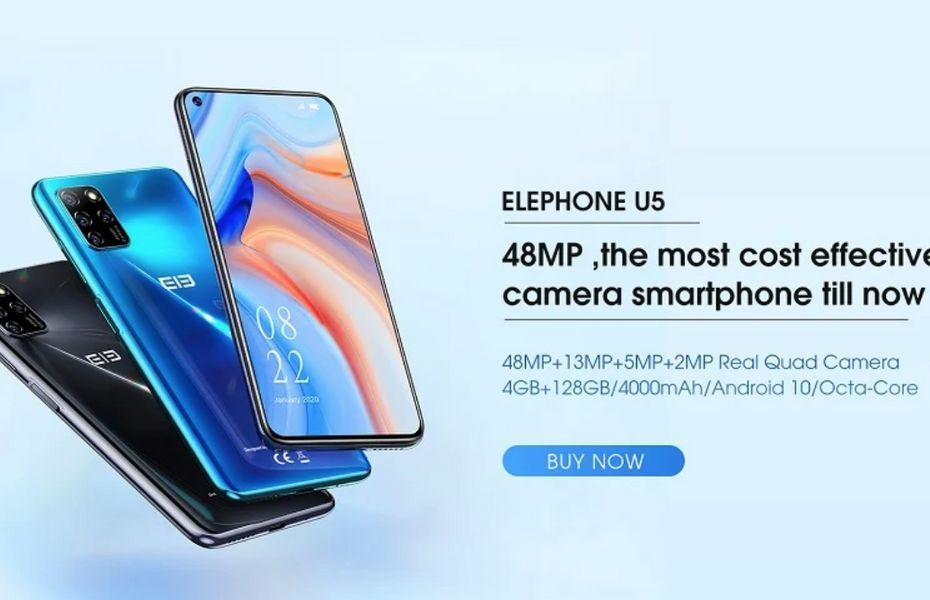 Elephone U5 resmi meluncur dengan spesifikasi mid-range dan dihargai Rp2 jutaan