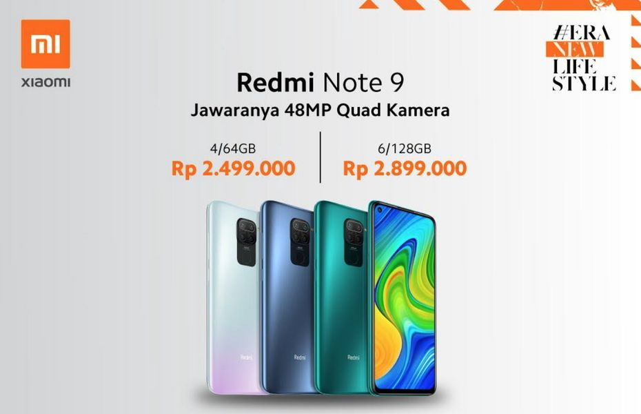 Pre-Order Redmi Note 9 dan Redmi Note 9 Pro mulai dibuka hari ini