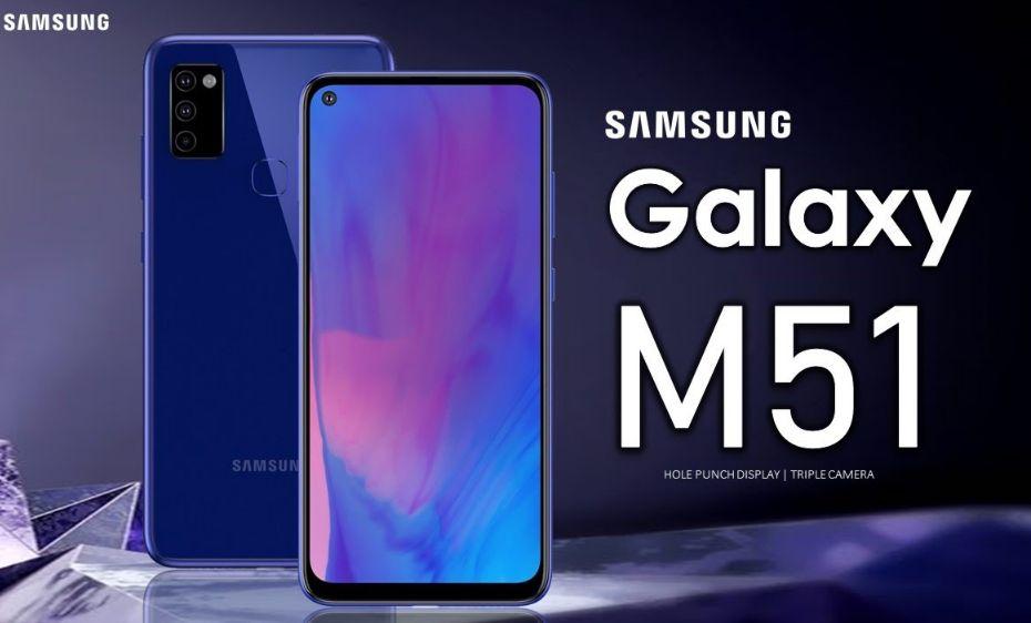 Samsung Galaxy M51 Dibekali Baterai Monster 7000 mAH