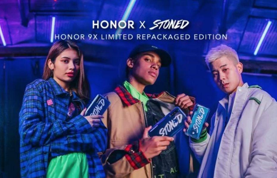 Honor dan Stoned & Co akan rilis Honor 9X edisi spesial pada 20 Desember