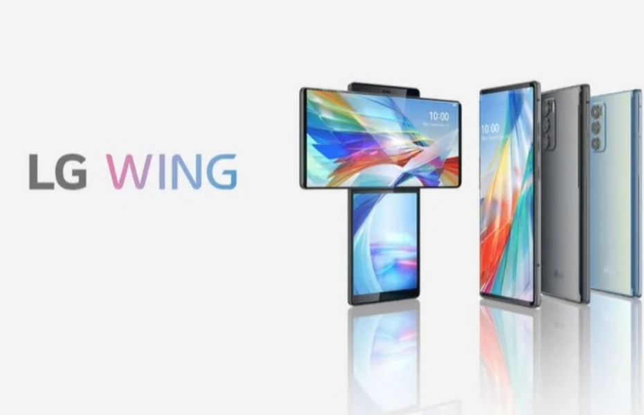 Punya desain Anti Mainstream, LG luncurkan LG Wing dengan layar putar 90 derajat