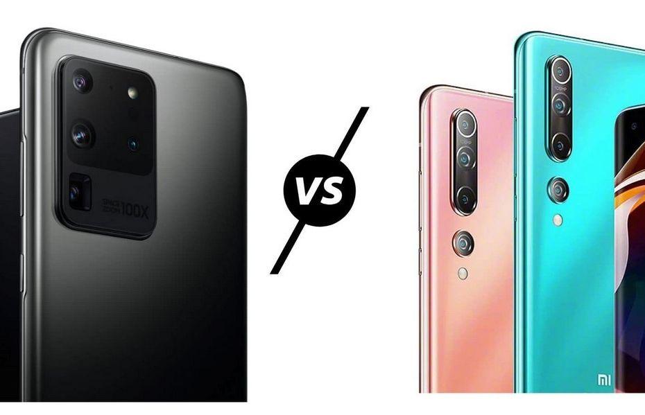 Perbandingan Mi 10 Pro vs Galaxy S20 Ultra, HP Flagship dengan Kamera 108MP