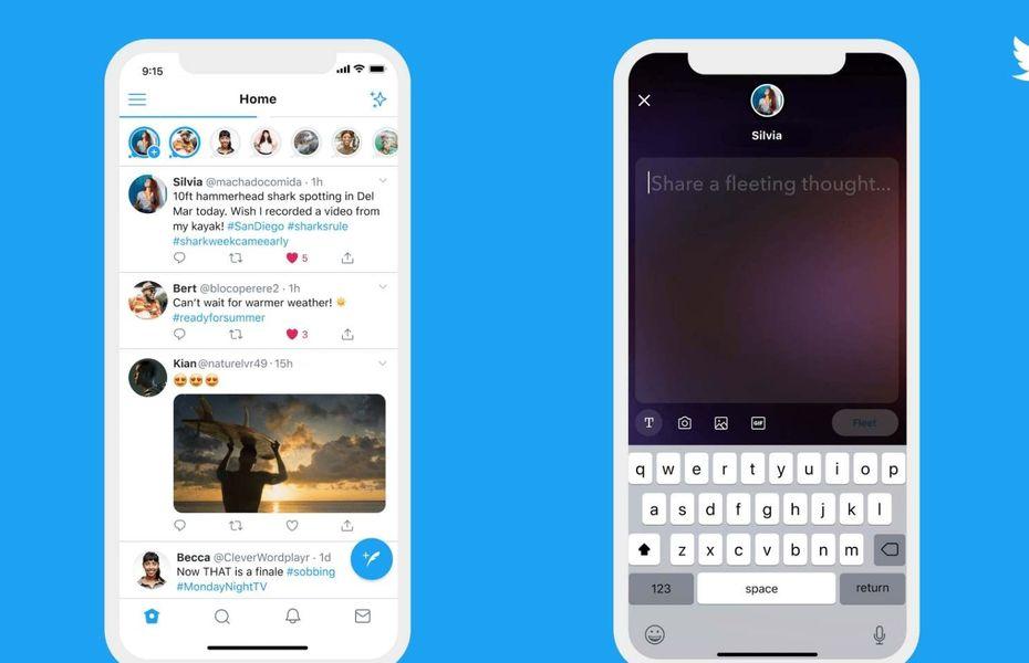 Twitter luncurkan fitur baru, Fleets yang mirip dengan Instagram Story