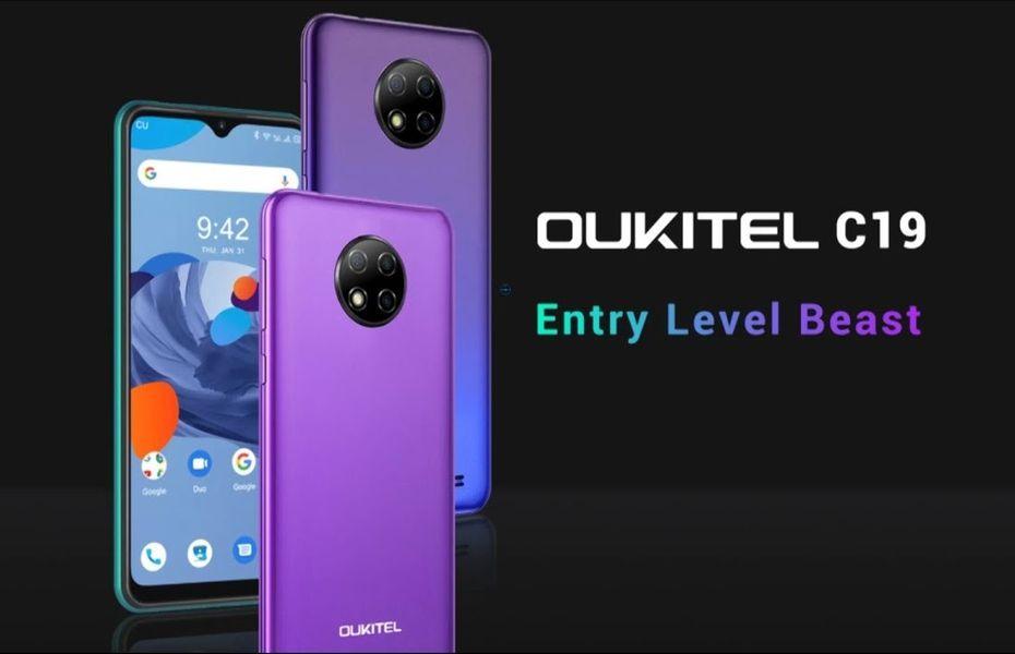 Oukitel C19 diumumkan dengan layar 6,49 inci, 4.000 mAh, dan Android 10 Go