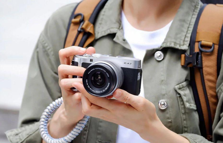 Fujifilm hadirkan XA-7, kamera mirrorless untuk pemula