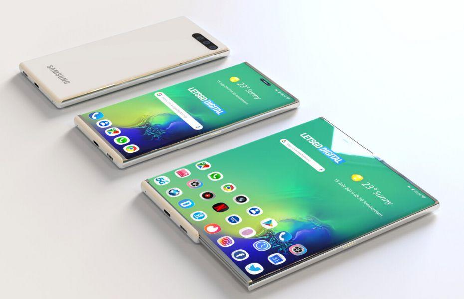 Heboh! HP Samsung Bisa Digulung, Kira-Kira Kapan Diluncurkan?