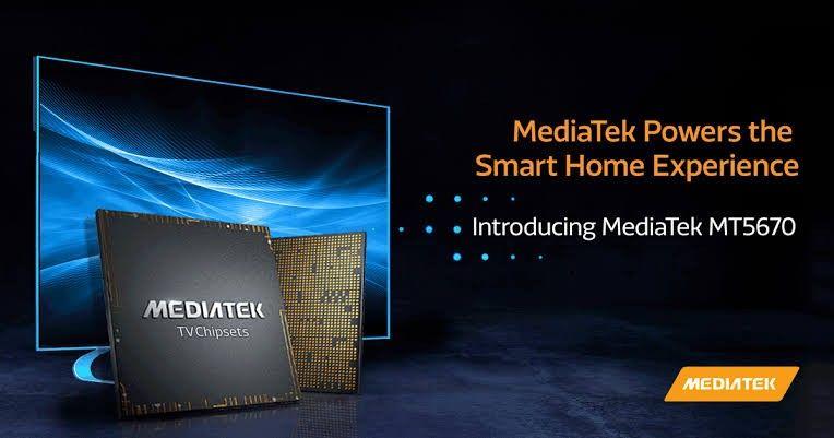 MediaTek perkenalkan chipset terintegrasi MT5670 untuk smart tv