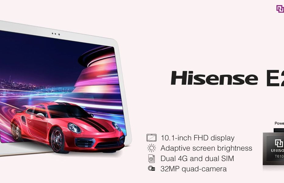 HiSense umumkan tablet edukasi dengan layar besar dan empat kamera belakang