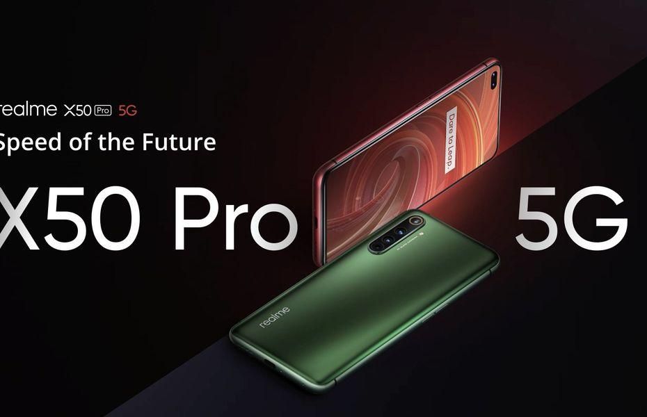 Realme X50 Pro 5G dengan konfigurasi 12GB/256GB resmi diluncurkan di Indonesia
