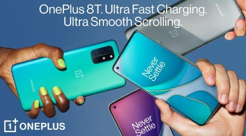 OnePlus 8T resmi meluncur dengan refresh rate 120Hz, Always-on-Display, dan Warp Charge 65W