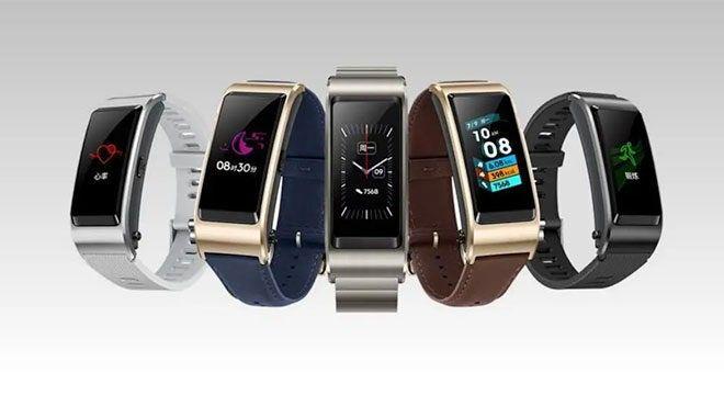 Huawei TalkBand B6 akan hadir dalam empat varian warna
