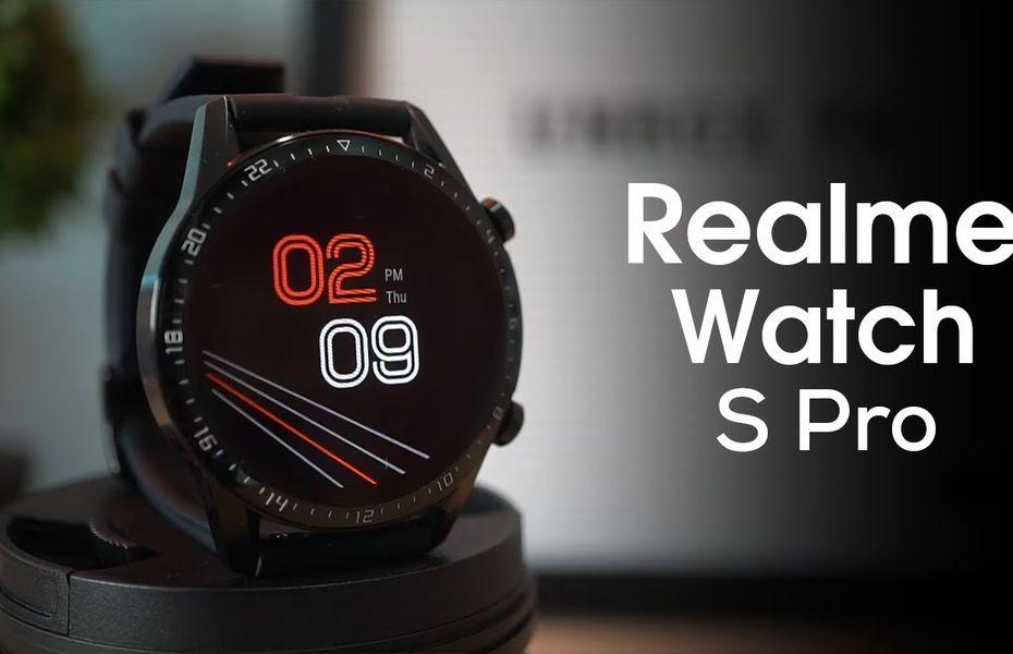 Realme Watch S dan Watch S Pro diluncurkan di India, harga mulai dari Rp960 ribuan