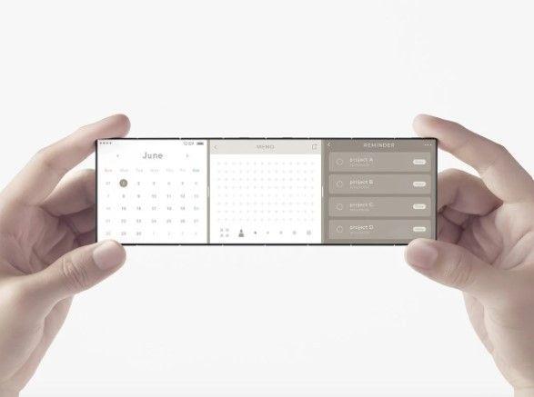 OPPO pamerkan konsep smartphone layar lipat tiga