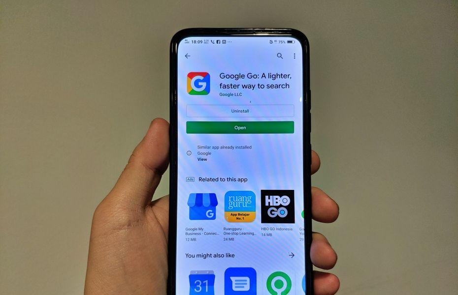 Google Go kini sudah tersedia bagi pengguna di seluruh dunia