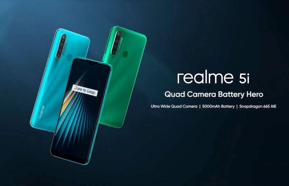 Realme 5i segera hadir di Indonesia, berikut spesifikasinya