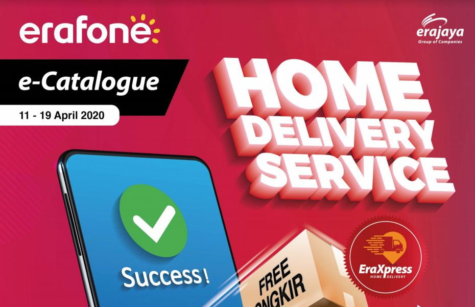 Tanpa harus keluar rumah, Erajaya resmikan layanan Mobile Selling dan EraXpress