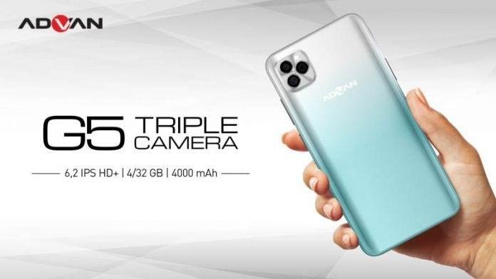 Hadir dengan tiga kamera mirip iPhone 11 Pro Max, Advan G5 dijual Rp1,4 juta jauh lebih murah